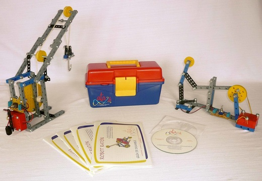 Robotica educativa. Para principiantes 3 robots con el kit ATA EPE