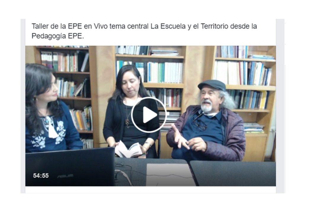 La Escuela y el Territorio. Gloria Escobar, nos cuenta la participación de la EPE en la Expedición por la Memoria del Conflicto y las iniciativas de paz desde las escuelas en Bogotá.