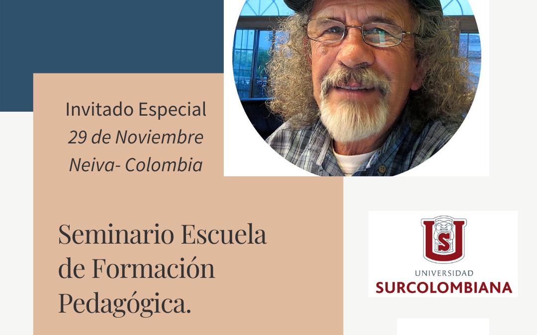 Seminario Escuela de Formación Pedagógica Invitado Dino Segura