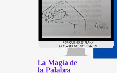 ¿Por qué no es plana la planta del pie humano? Libro por entregas La Magia de la Palabra