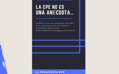 La EPE no es una anécdota. Cartilla La Pedagogía EPE