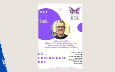Rafael Porlán. La experiencia EPE. Taller de la EPE en Vivo