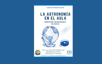 La astronomía en el aula. Curso introductorio